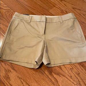 NWT J Crew Khaki shorts